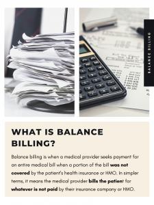 balance billing