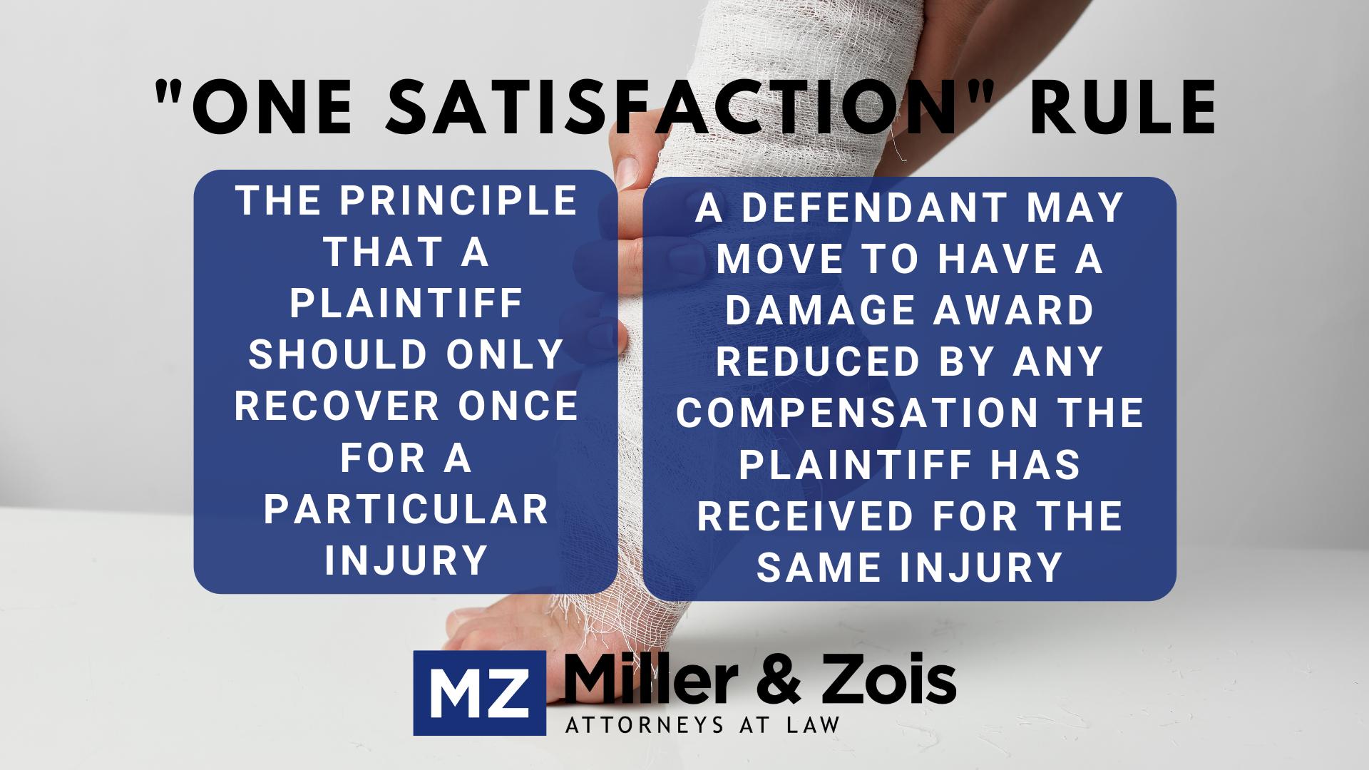 One satisfaction rule