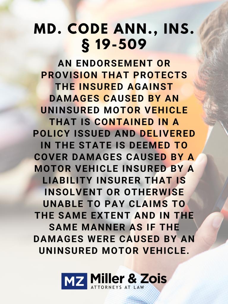 Uninsured drivers rental car