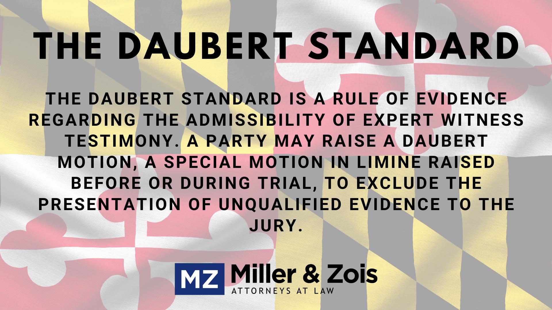 Daubert-Standard