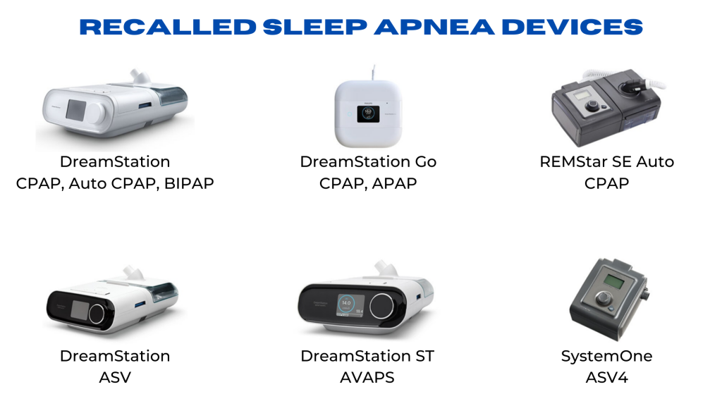 Recalled CPAP Machines